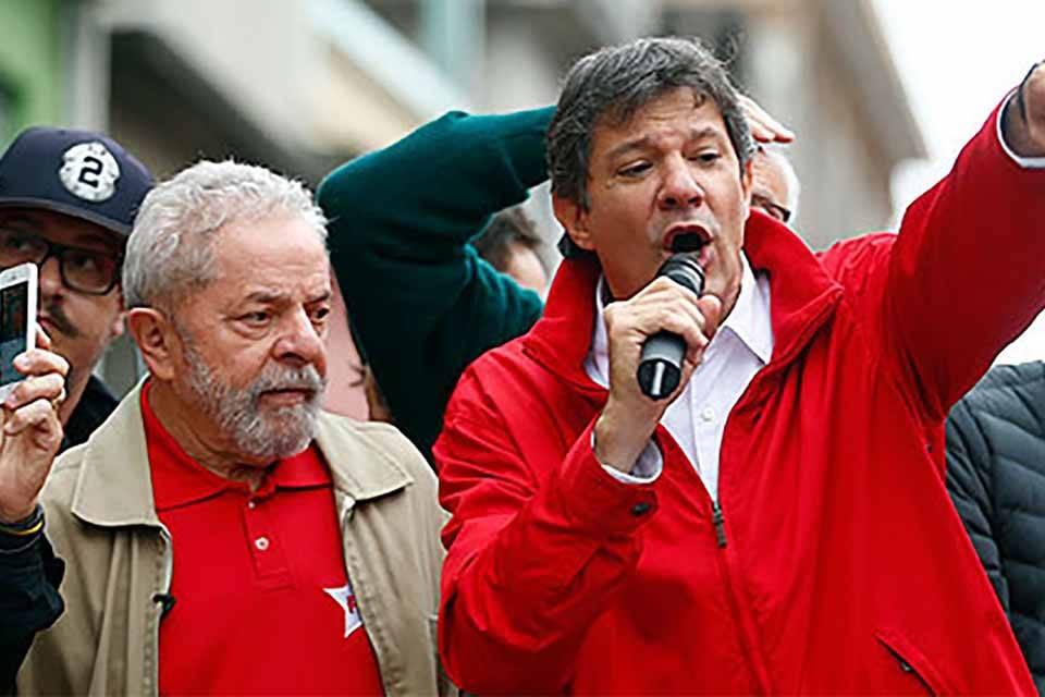 Fernando Haddad Lula Brasil