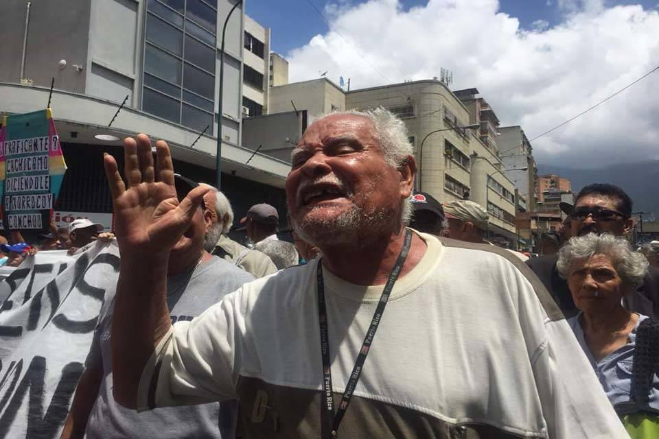 Jubilados venezolanos realizan protesta virtual internacional para exigir #pensióndignaya - gobierno vacunación