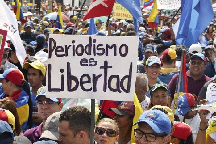 Organizaciones instan a la CIDH dictar medidas de protección a periodistas en Venezuela