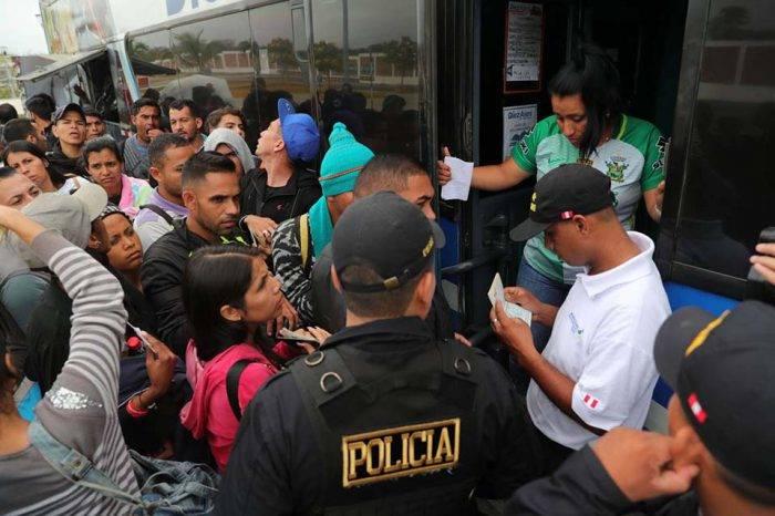 Perú es el mayor receptor de solicitudes de asilo por parte de los venezolanos