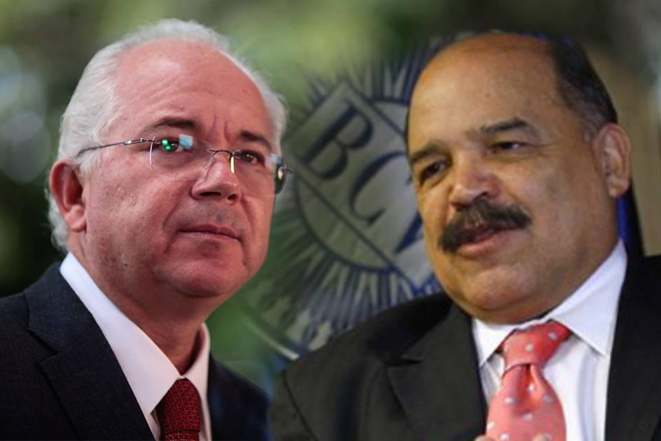 Rafael Ramírez y Nelson Merentes
