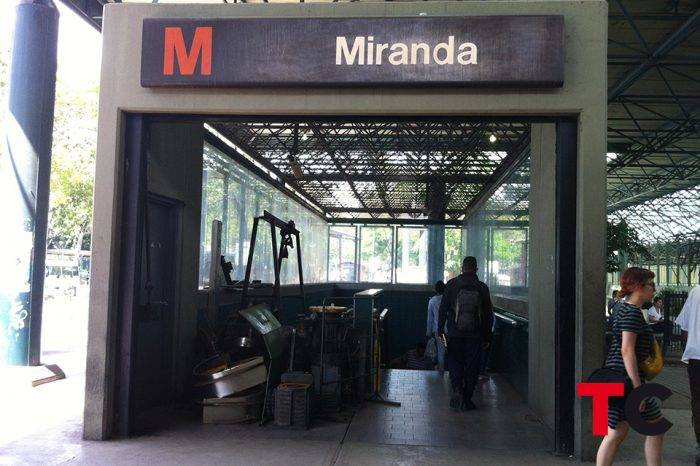FOTOS | Metro de Caracas: el rostro de un taller mecánico