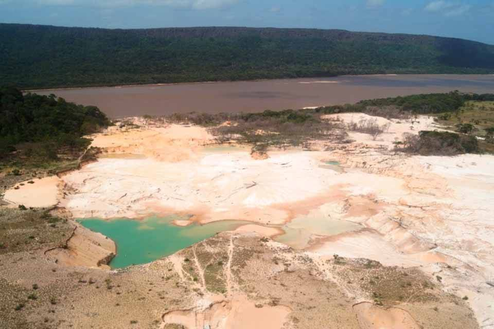 Parque Nacional Canaima minería ilegal