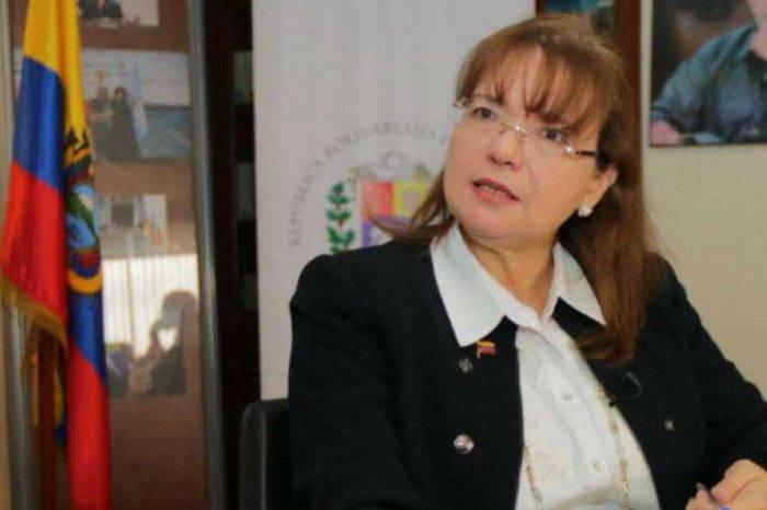 Carol Delgado, la embajadora que pagó por las ofensas de Jorge Rodríguez