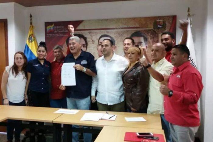 Sindicato de trabajadores del Metro firma convención colectiva propuesta por el Gobierno