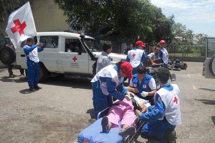 """Cruz Roja Colombia asegura que atender a migrantes venezolanos es """"todo un reto"""""""