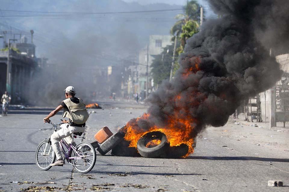 Protesta en Haití