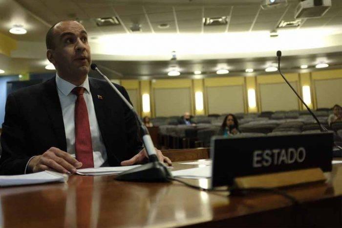 """Gobierno venezolano reconoce en la CIDH """"desafíos"""" para garantizar DDHH de presos"""
