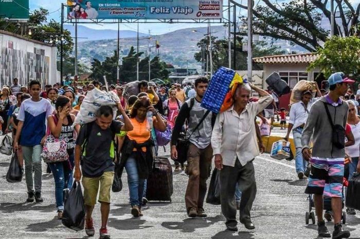 Migración de venezolanos Colombia