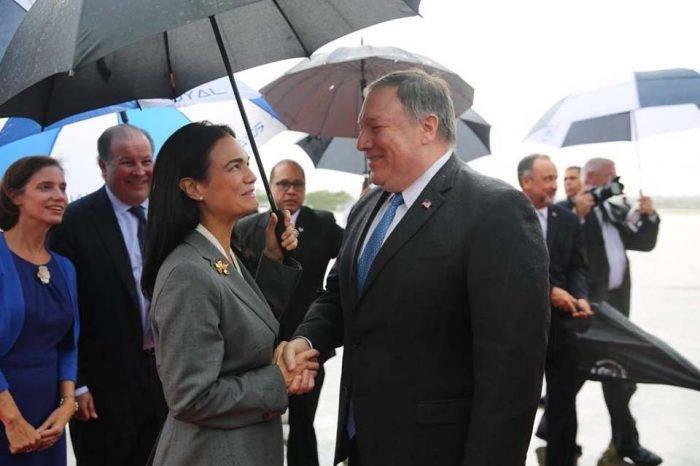 Pompeo visitó Panamá para hablar sobre migración de Venezuela y Nicaragua