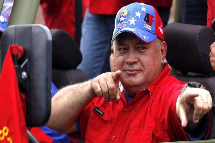 """Diosdado Cabello asegura que a EEUU le asusta el """"apoyo moral"""" que China da a Venezuela"""