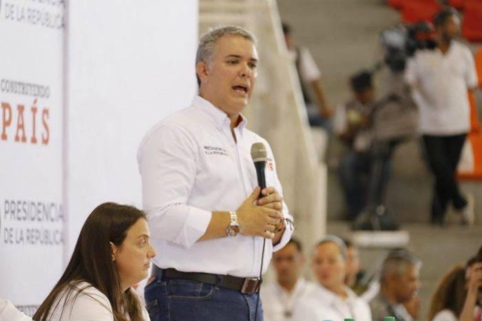 """Iván Duque: """"Para mí no es una opción una amnistía para Maduro"""""""