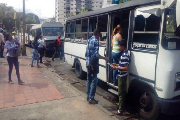 Solo 800 unidades de transporte prestan servicio comercial en Carabobo