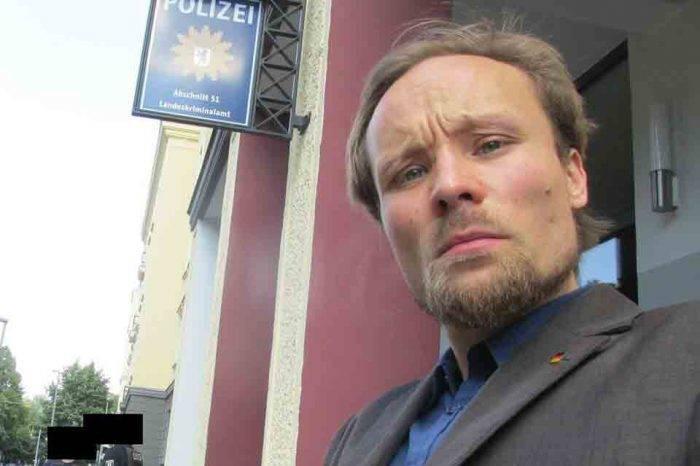 Tras otorgársele libertad condicional, el periodista alemán Billy Six volvió a su país