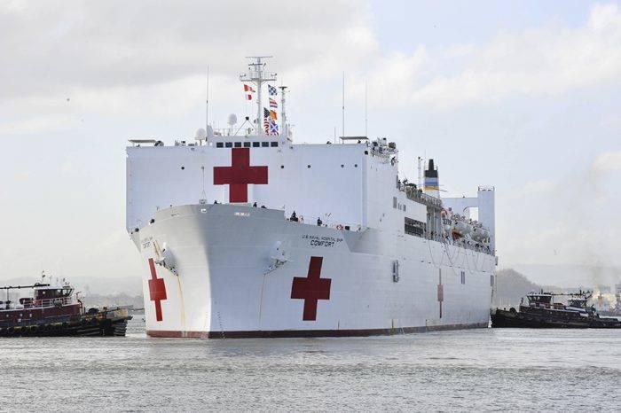 Buque hospital de EEUU llegará a Colombia para hacer labor humanitaria