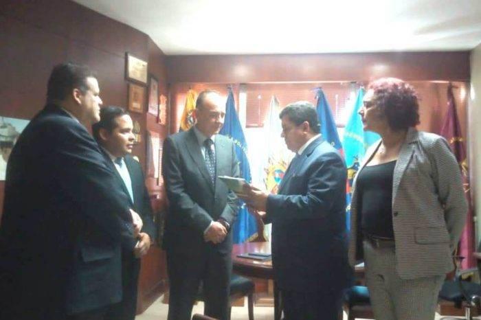 Agregado militar de España visitó Comisión de Seguridad y Defensa de la AN