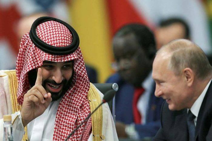 El efusivo saludo entre Vladimir Putin y el príncipe saudí en el G20: ¿son camaradas?