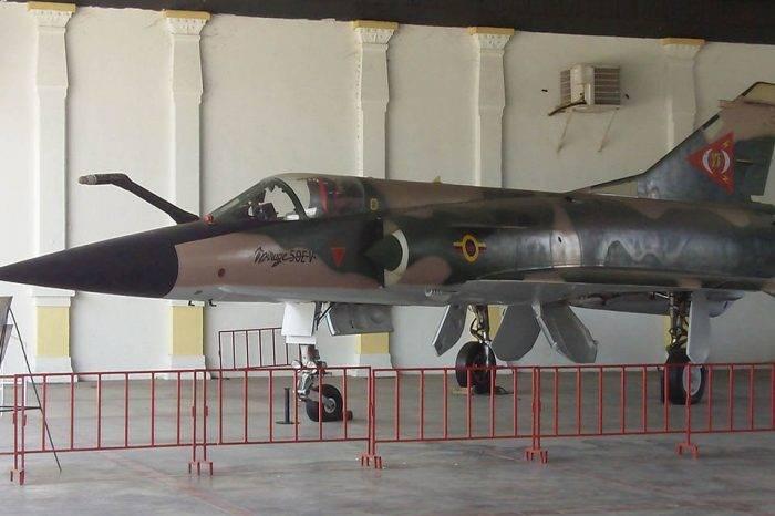 Avión Mirage visto en la ARC será exhibido para conmemorar Día de la Aviación el #27Nov