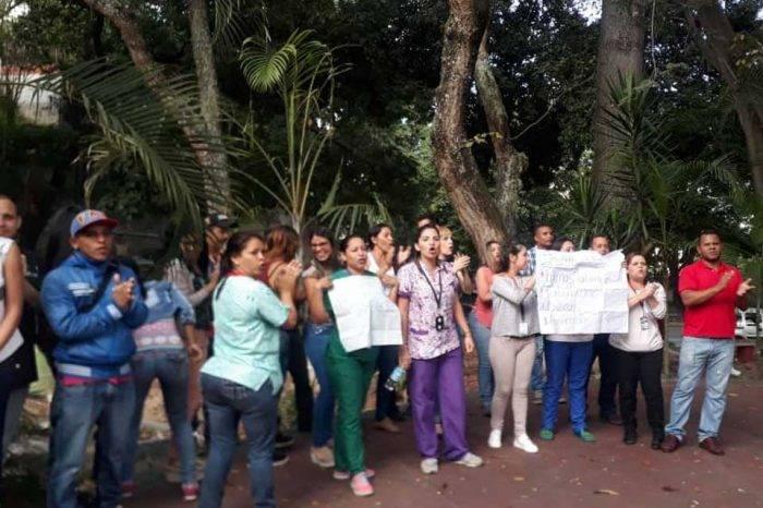 Protesta morgue de Bello Monte