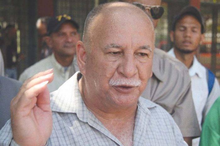 Dirigente sindical Rubén González sería presentado ante tribunal militar