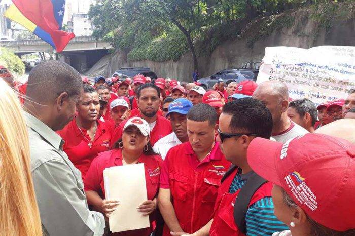 Trabajadores de Bolipuertos en La Guaira y Puerto Cabello protestaron por salarios