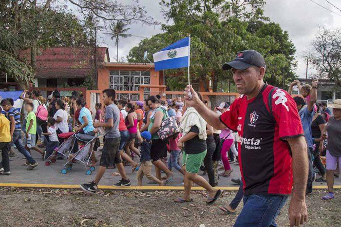 inmigantes centroamérica