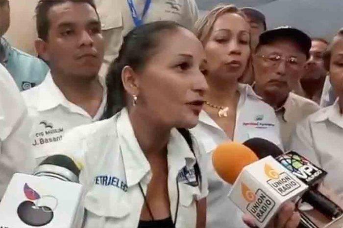"""Empleada de Corpoelec a Maduro: """"el saboteador es usted"""""""