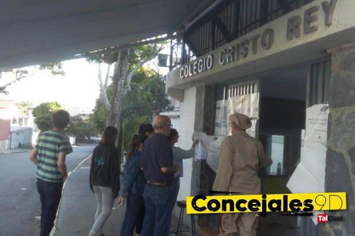 En el este de Caracas la participación apenas superó el 25%