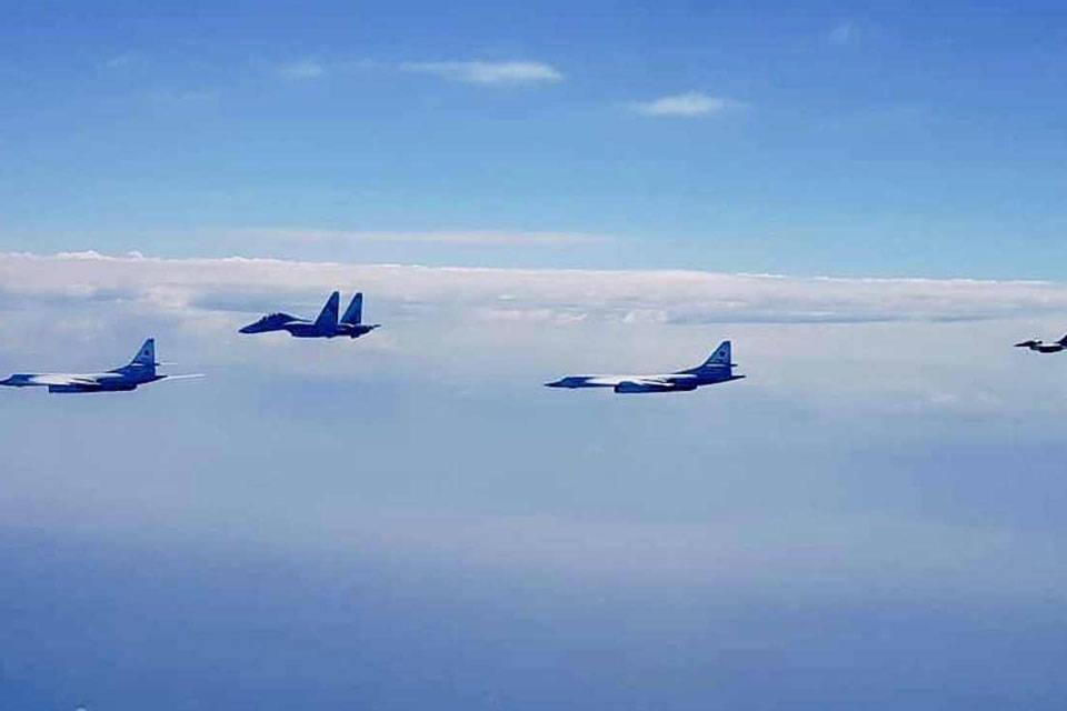 FAN Aviones caza interceptaron avioneta que presuntamente transportaba droga