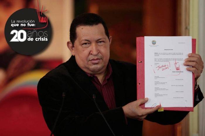 Chávez echó mano de cambios constitucionales para hacer un Estado dependiente