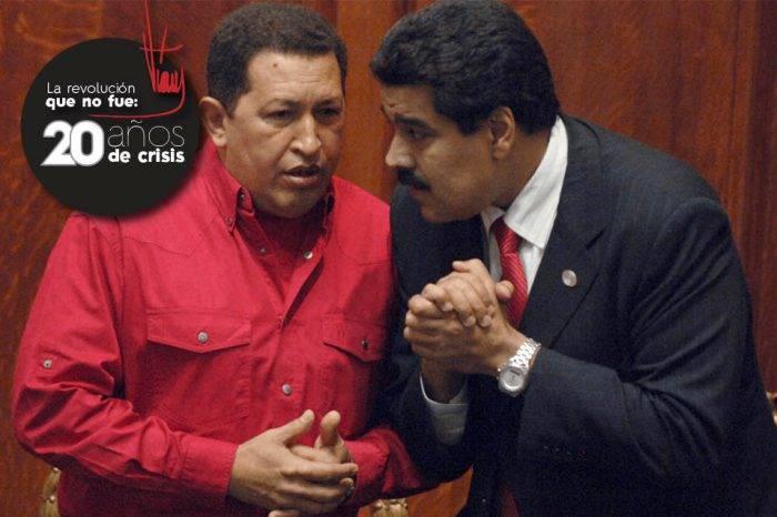 Chávez Maduro 20 años