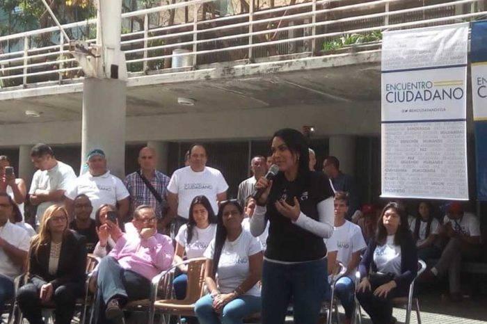 Encuentro Ciudadano inicia su lucha con miras a concertar acuerdos entre opositores