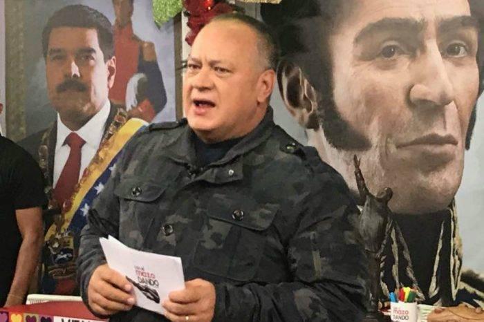 Diosdado Cabello lamentó la muerte de Nelson Martínez
