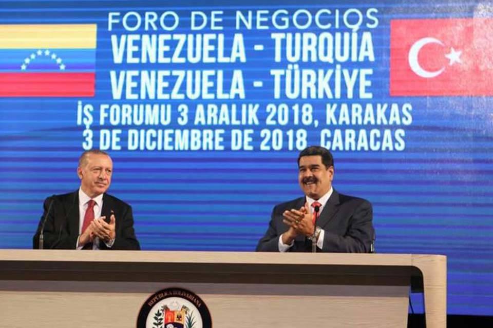 Erdogan y Maduro