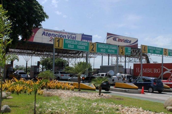 "Invialca asegura que autopista Valencia - Puerto Cabello se encuentra ""despejada"""