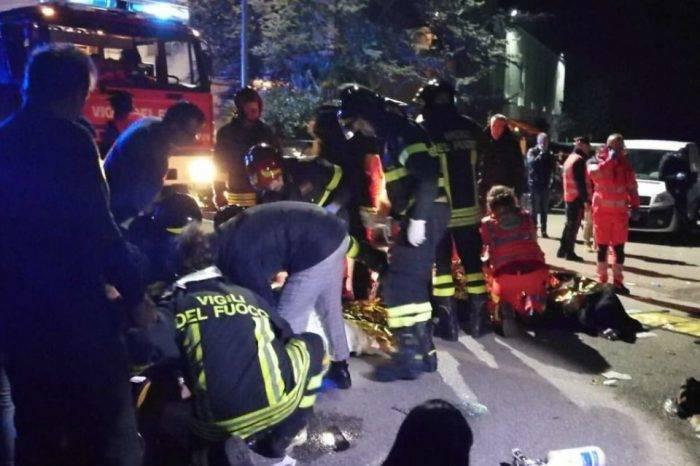 Más de seis muertos y 120 heridos deja estampida en discoteca de Italia