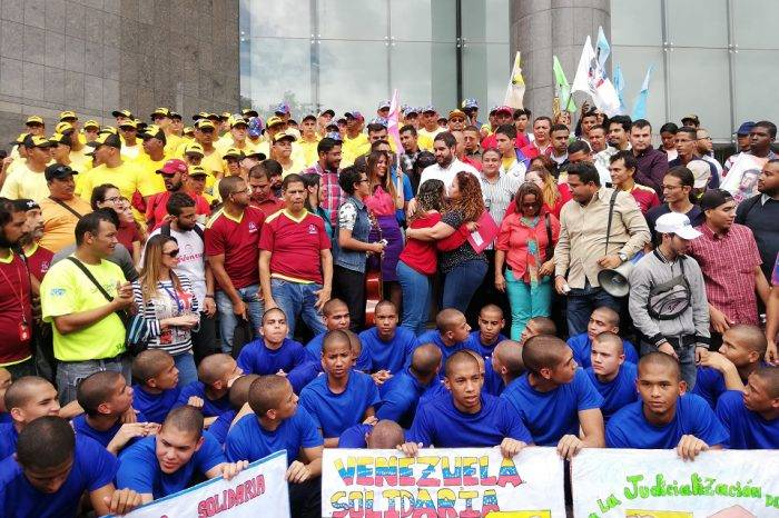 JPSUV denunció ante la ONU en Caracas persecución a líderes de izquierda