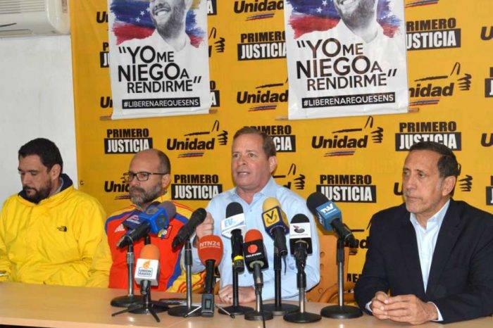 Juan Pablo Guanipa Primero Justicia