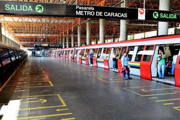 Metro de Caracas cesa sus operaciones luego de la convocatoria de Juan Guaidó