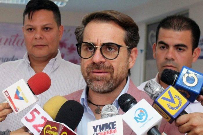 """Rafael Lacava: """"La distribución eléctrica debería estar en manos de privados"""""""
