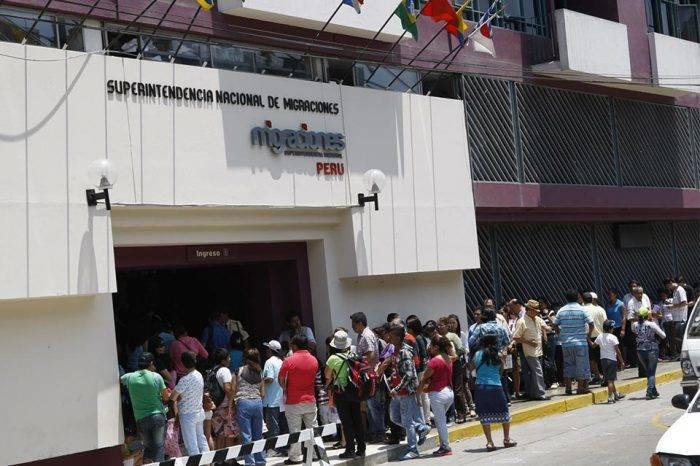 Migración peruana habilitó dos nuevas oficinas en Lima para tramitar el PTP