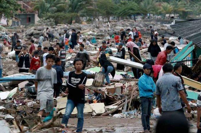 Tsunami Indonesia diciembre 2018