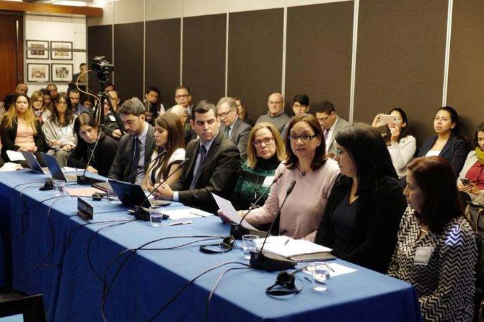 Viuda Fernando Albán audiencia CIDH