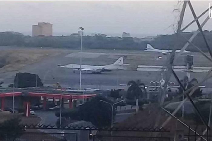 Bombarderos rusos dejaron Venezuela para regresar a Moscú