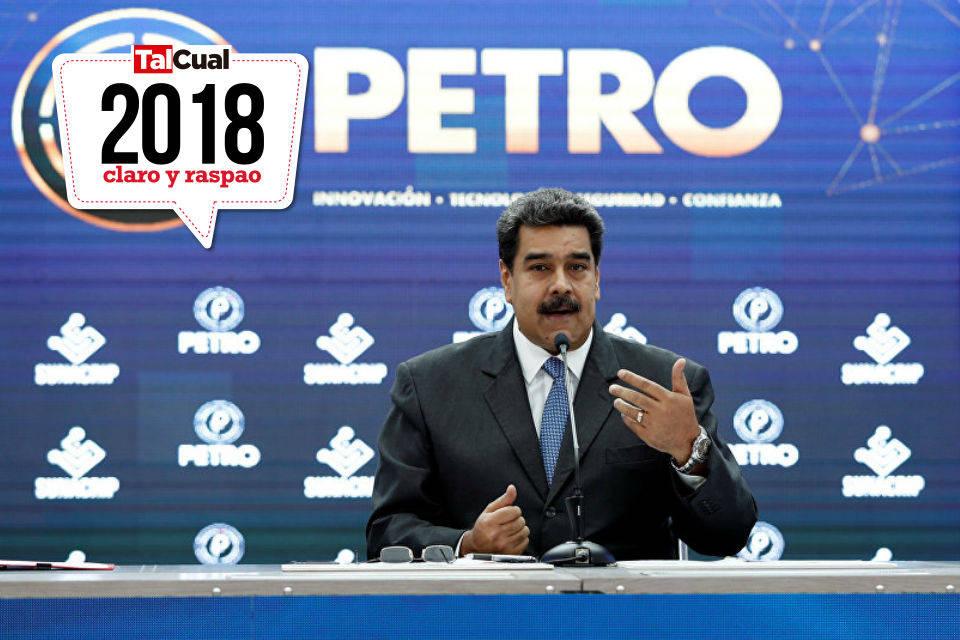El petro, tras un año lleno de anuncios y modificaciones, no convence a los ciudadanos venezolanos