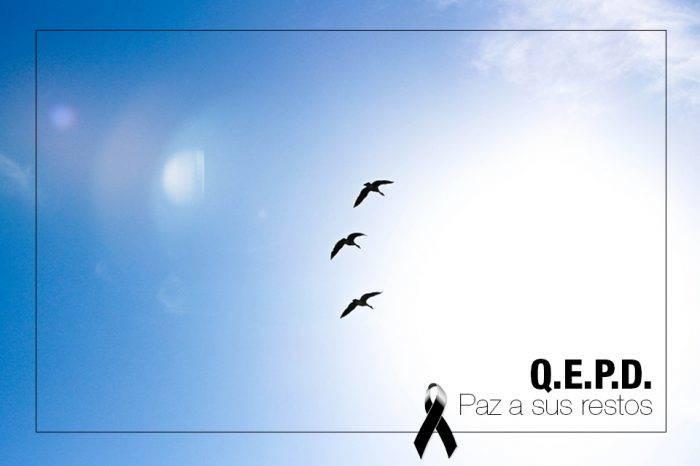 Falleció la madre de nuestro colaborador y amigo Gregorio Salazar