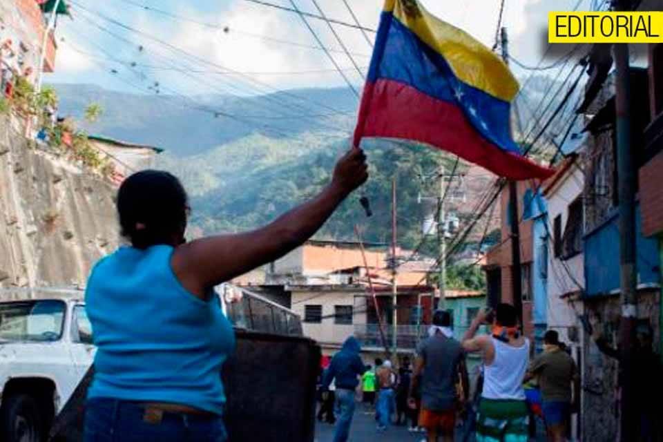 En Cotiza el poder popular salió a pedir que Maduro se fuera