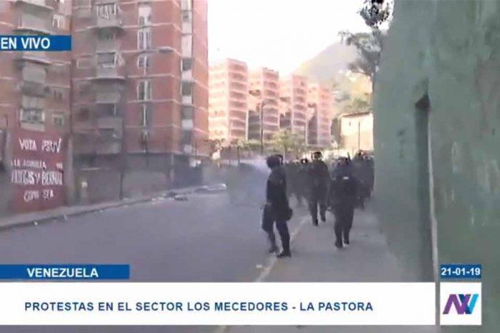 Guardia Nacional y PNB disparan contra residencias en Los Mecedores