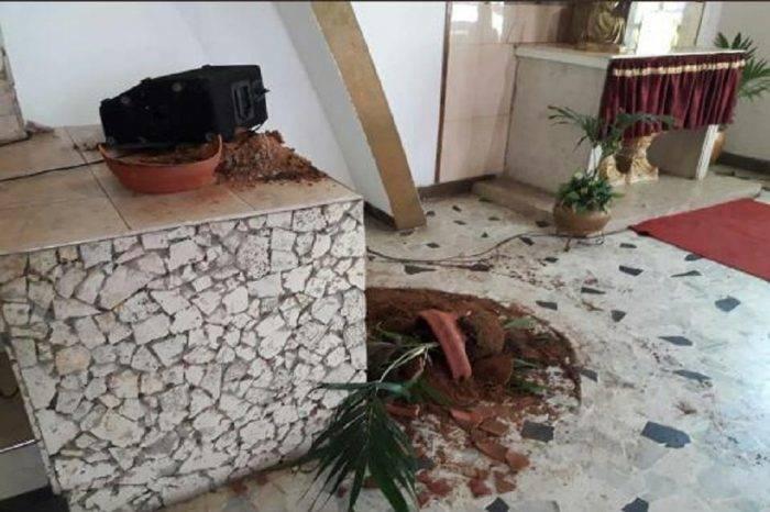 Ataque colectivos Iglesia Maracaibo