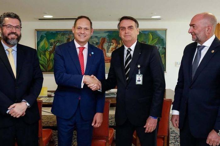 Bolsonaro y Miguel Ángel Martín
